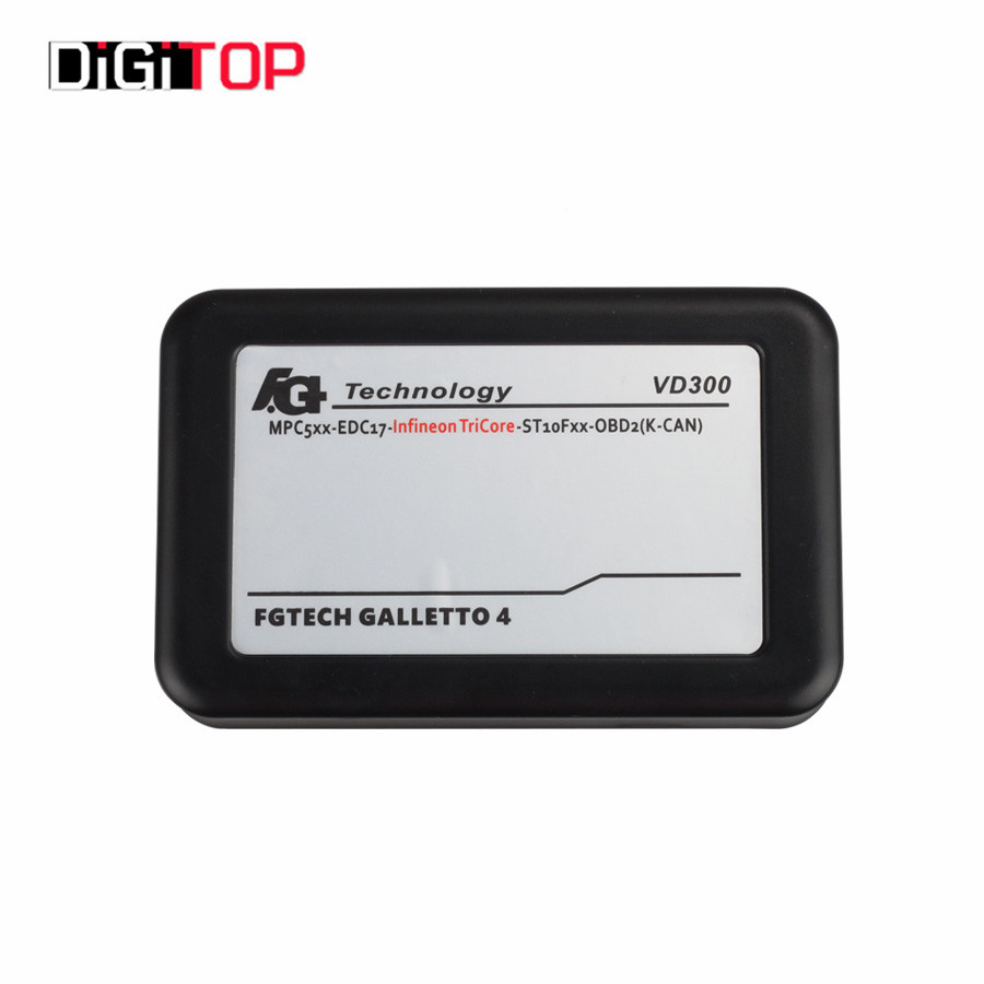 Latest Version VD300 FGTech V54 FG Tech Galletto 4 Master Tech V54 VD300 BDM-TriCore-OBD Function(China (Mainland))