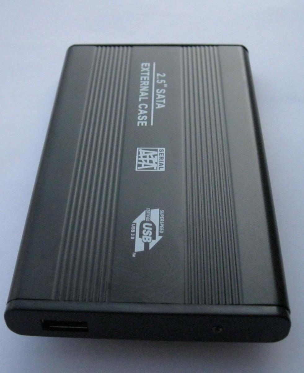 "100pcs Portable 2.5"" USB 2.0 HDD Hard Drive Disk Red Enclosure External 2.5 Inch Sata HDD Case Box Caddy support 1TB and more(China (Mainland))"