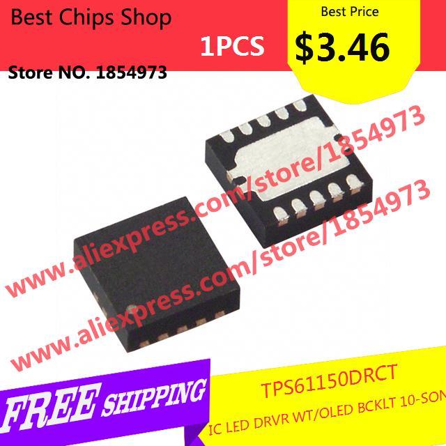 Free Shipping 1PCS=$3.46 Diy Electronic TPS61150DRCT IC LED DRVR WT/OLED BCKLT 10-SON 61150 TPS61150(China (Mainland))