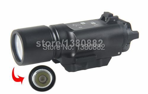 Hot Tactical Surefire X300 Ultra LED Weapon Light Flashlight Torch For Hunting(China (Mainland))