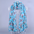 DHL Shipping 10Pcs lot Fashion Polka Floral Viscose Shawl Scarf 180 90Cm Brand Printed Fulares Mujer