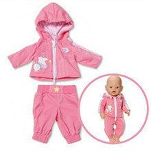 2color choose 1set  doll  clothes Wear fit 43cm Baby Born zapf,  Children best  Birthday Gift(only sell clothes)(China (Mainland))