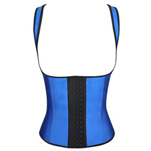waist training corset hot boby shapers sexy slimming belt latex waist cincher latex waist trainer Steel Boned Slimming Underwear(China (Mainland))