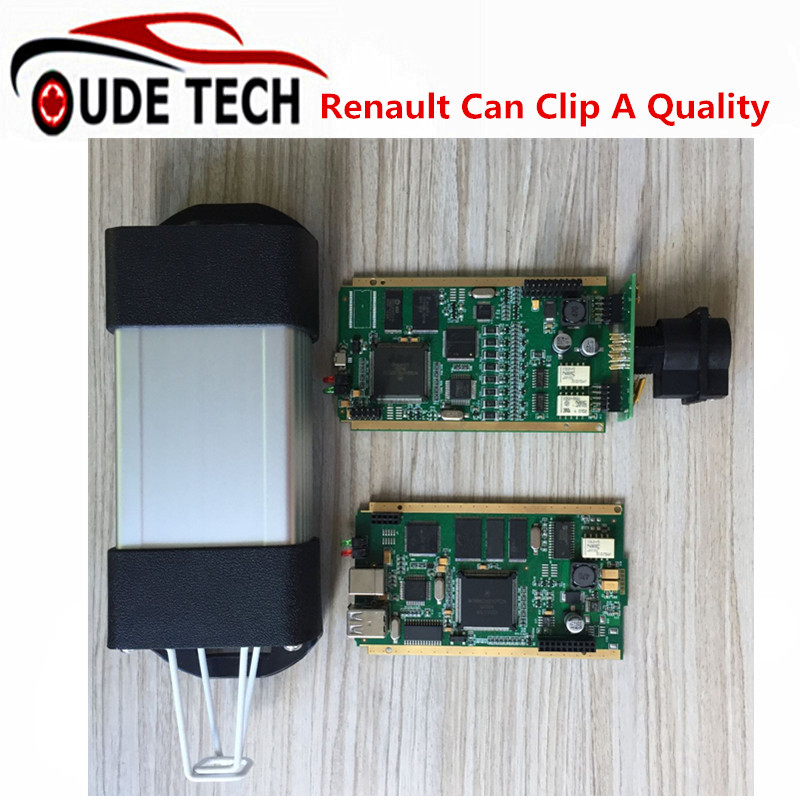 DHL FreeBest Renault Can Clip Diagnostic Interface Multi-Languages Renault Can Clip V160 Full Chip OBD2 Diagnostic Tool in stock(China (Mainland))