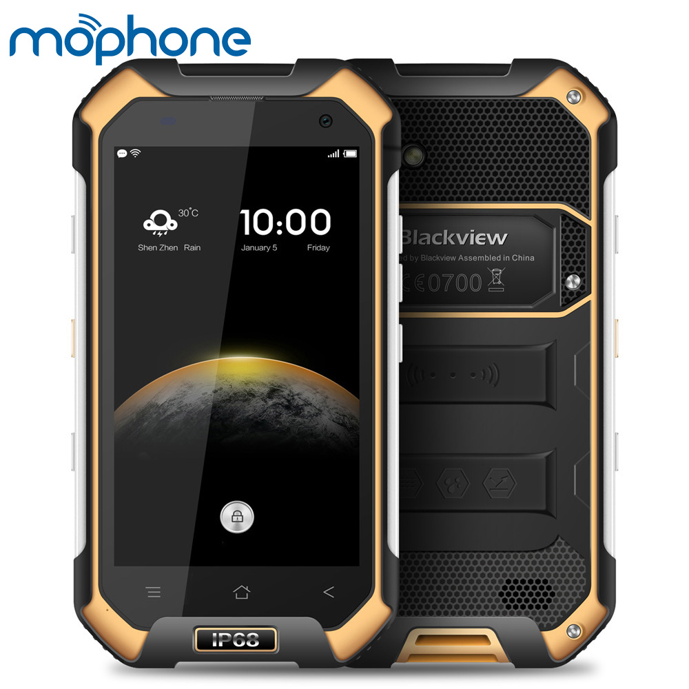 Blackview BV6000s 4G NFC Waterproof Shockproof Smartphone Android 6.0 MTK6737T Quad Core 2GB+16GB 8MP 4200mAh OTG Mobile Phone(China (Mainland))