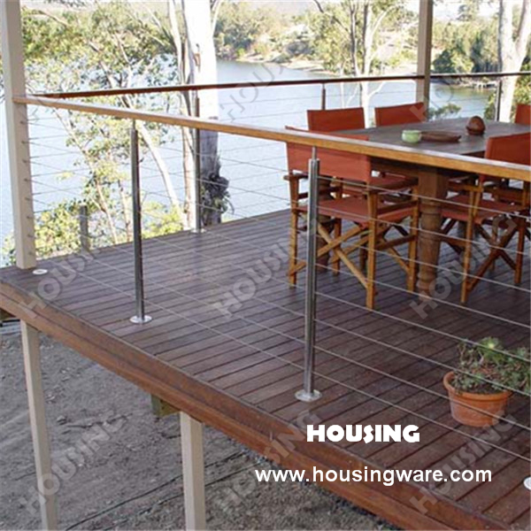 Low price and high quality deck wire railing on aliexpress for Low price decking
