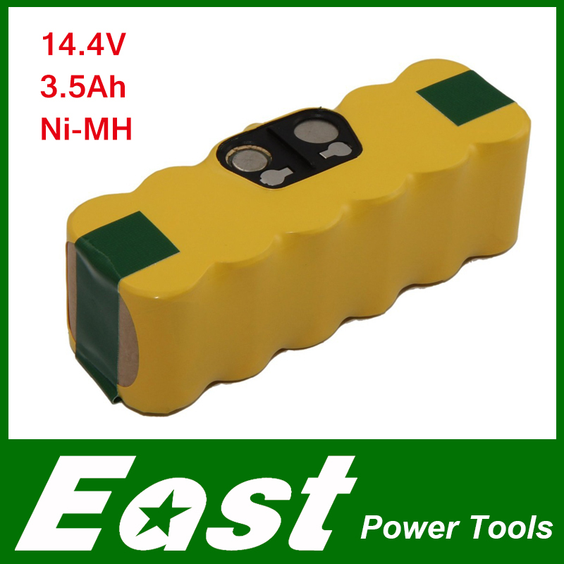 East 3500mAh 14,4V Ni-MH Battery for iRobot Roomba 520 530 531 550 555 compatible with iRobot 11702 GD-Roomba-500 VAC-500NMH-33(China (Mainland))