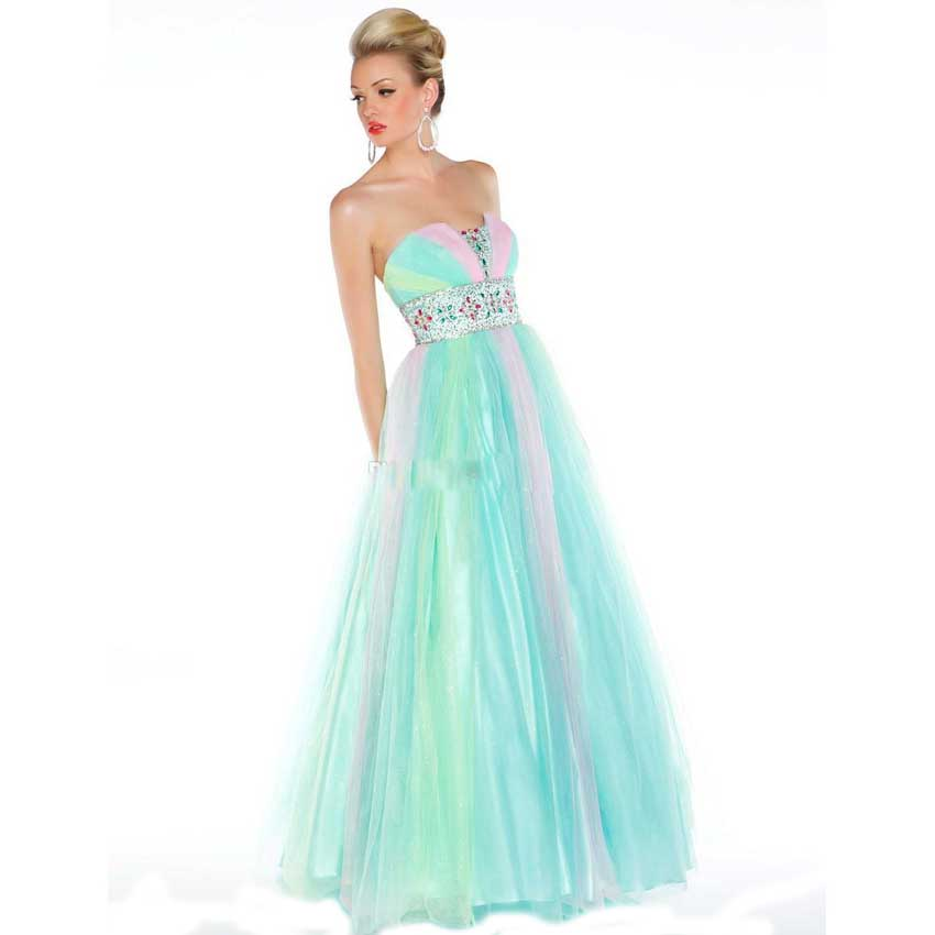 High Quality Rainbow Prom Dresses Promotion-Shop for High Quality ...