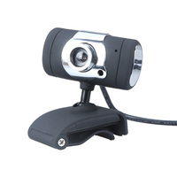 Black USB 2.0 50.0M HD Webcam Camera Web Cam Digital Video Webcamera with Microphone MIC for Computer PC Laptop