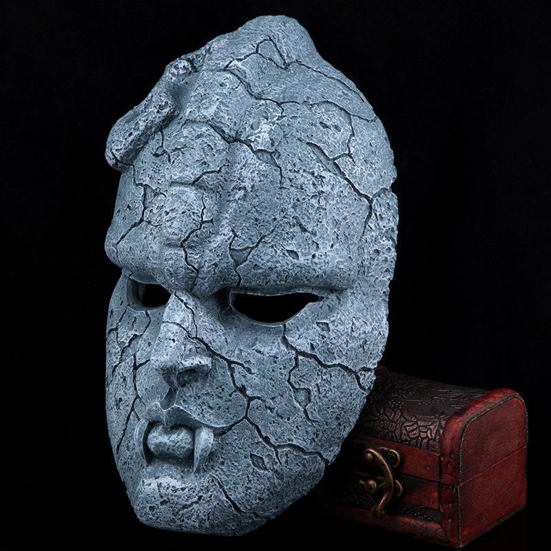 halloween 2015 Resin Mask JOJO'S BIZARRE ADVENTURE mask stone ghost mask(China (Mainland))