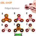 Nice Feel Quality Multicolor Tri Spinner Fidget spinner Speelgoed EDC Hand Spinner Anti Stress Reliever