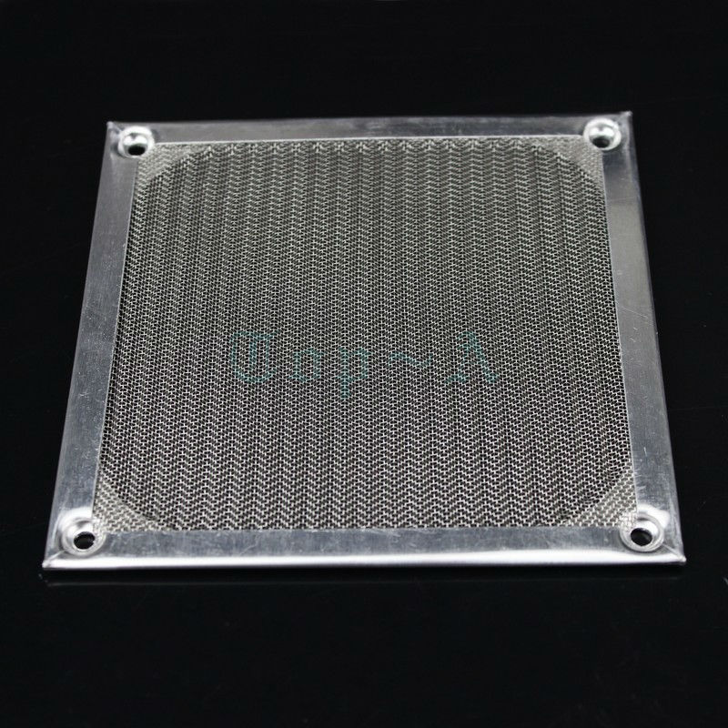 10pcs PC Computer Case Fan Dust Filter 120mm 12cm Silver Strainer Grill Guard Dustproof Cover(China (Mainland))