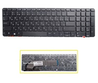 New Russian keyboard black for HP probook 450 g0 455 g1 470 g1 laptop RU keyboard without frame free shipping