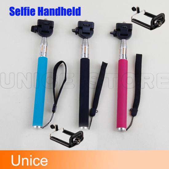Hot Sale monopod Selfie Handheld Monopod camera holder Rotary Extendable Seifie monopod for Iphone 5 Camera phone samsung phone(China (Mainland))