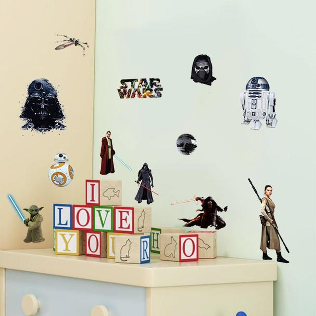 Star Wars Wall Stickers for Room Decoration