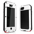 Hot selling 6 Colors Weather Dirt Shock proof Metal Alloy Cell Phone case for iphone 5