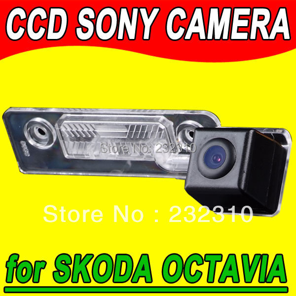 For Sony CCD car rear view back up parking camera for VW SKODA OCTAVIA ROOMSTER TOUR FABIA waterproof Sensor Security for GPS(China (Mainland))