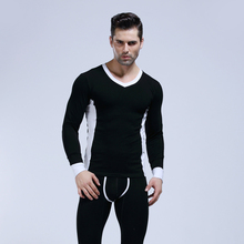 Buy WJ Brand Men's Long Johns Sexy Mens Underwear Thermal Cotton Man Warm Winter Long Pants Trousers Gay Keep Warm Pajamas Sleepwear for $20.99 in AliExpress store