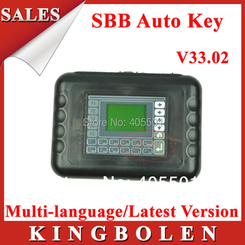 2015 Professional Universal Auto Key Programmer SBB V33.02 Multi-language Silca V33 SBB Key Maker Free Shipping