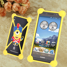 Top Qualty 3D Lovely silicone bags Huawei Ascend D quad XL P1s W3 Mulan ascend p9 d9 Mobile Phone Cases cute Back Covers - Shenzhen DYS Technology Co., Ltd. store