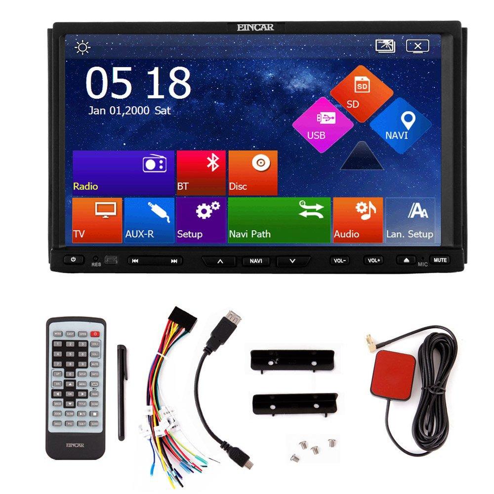 Win 8 OS 7'' car DVD player radio Double-2 DIN GPS navi Car stereo Video FM AM ipod USB Bluetooth+Free GPS map + remote control(China (Mainland))