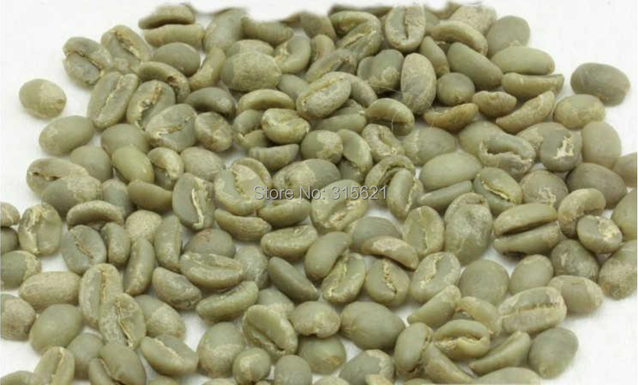 Free Shipping 500g Ethiopia green coffee beans AAA