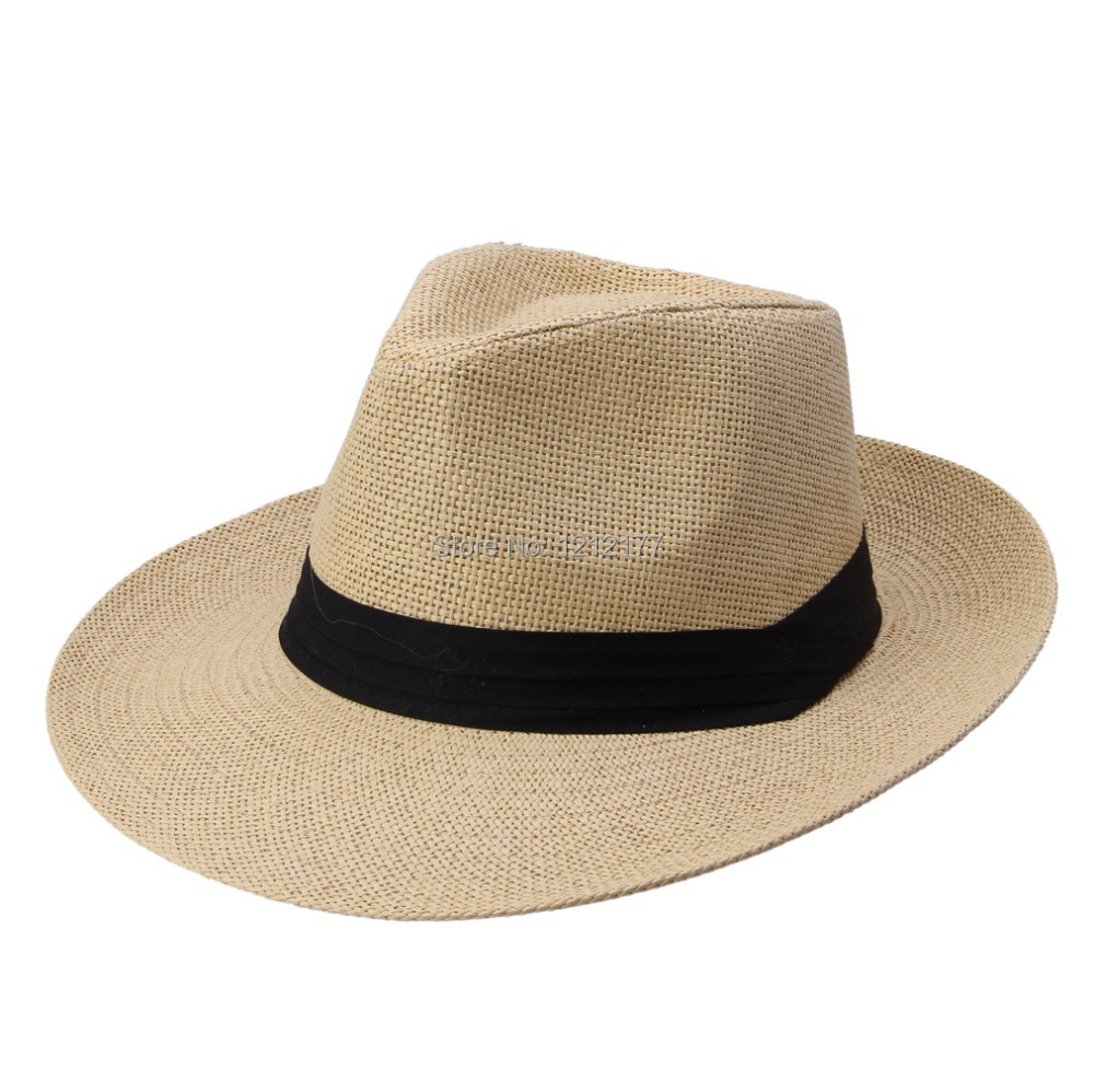 Women Sun Beach Hats,Wide Brim Straw Hat,Unique Windproof Strap Design,Fashionable Big Bowknot,UPF 50+.