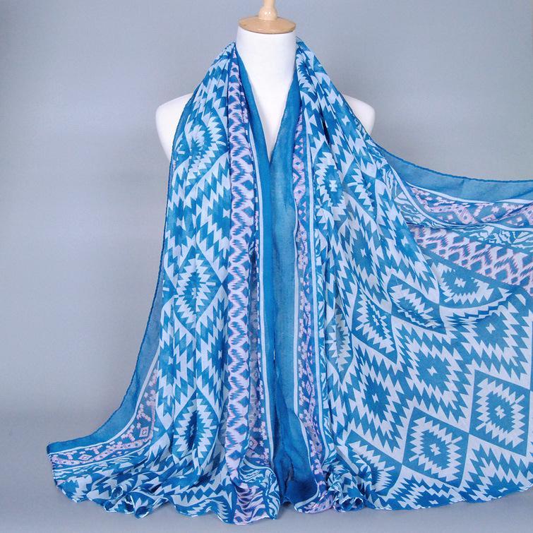 180-90cm 2015 luxury brand women voile scarf wrap islamic muslim hijab striped scarves desigual scarfs pashmina from india W300(China (Mainland))