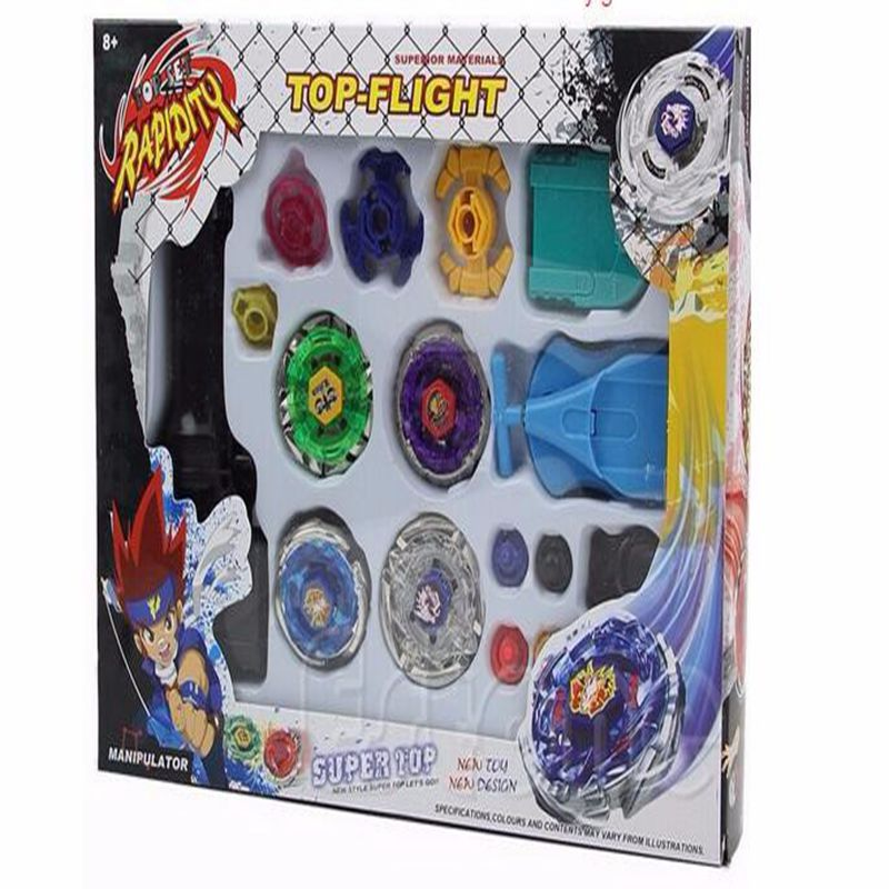 Classic Toys Spinning Tops beyblade metal fusion 4D Launcher Grip Set Fight Master Rare beyblade Kids toys Gifts brinquedos(China (Mainland))