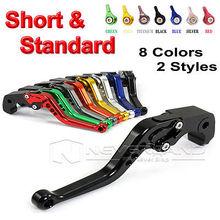 CNC Long&Short Adjuster Brake Clutch Levers For Suzuki GSXR 1000 600 750 GSR 750 600 DL650/V-STROM TL1000S SFV650 GLADIUS D10(China (Mainland))