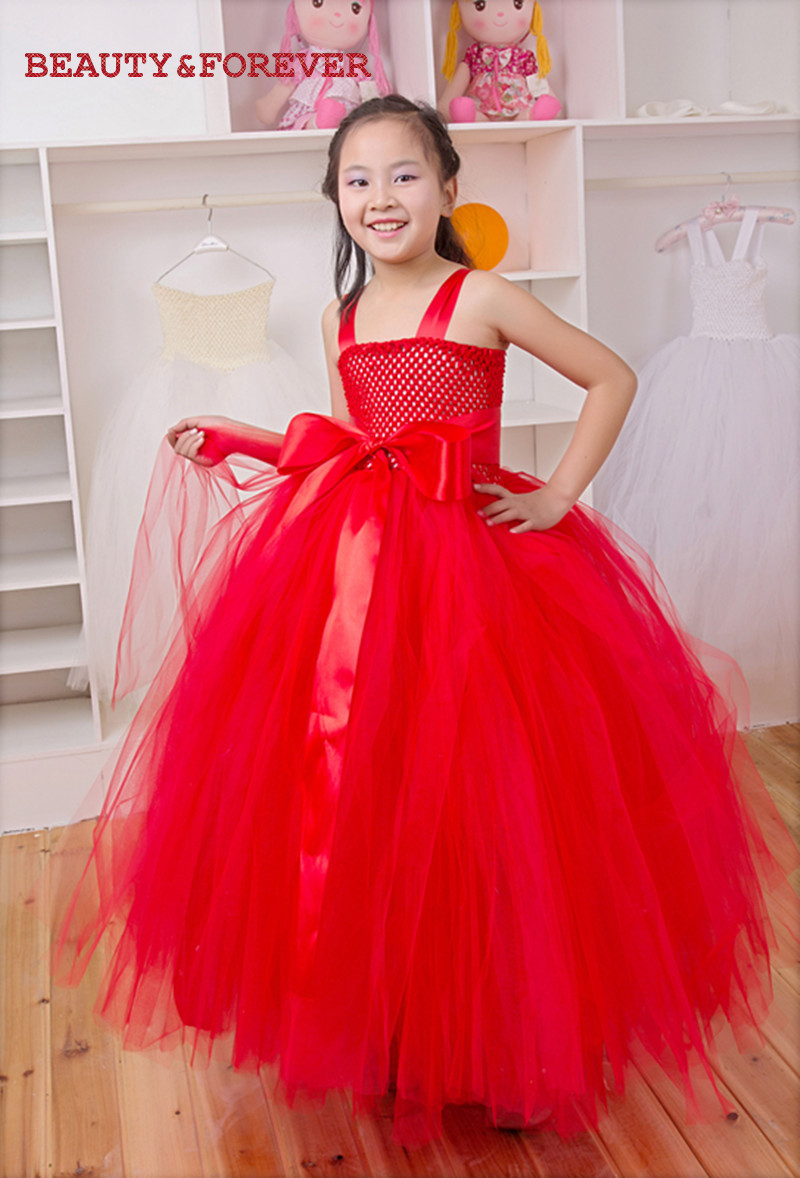 Red Bridesmaid Dresses For Little Girls Little Girls Red Wedding
