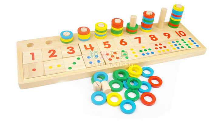 Good Educational Toys : Good gift montessori educational wooden toys early