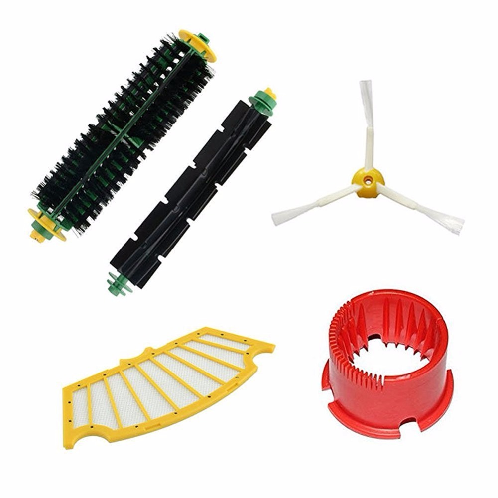 Robots accessories with Brush Filter Cleaning Tool For iRobot Roomba 500 600 Series 550 560 610 replacement Vacuum Cleaner Parts(China (Mainland))
