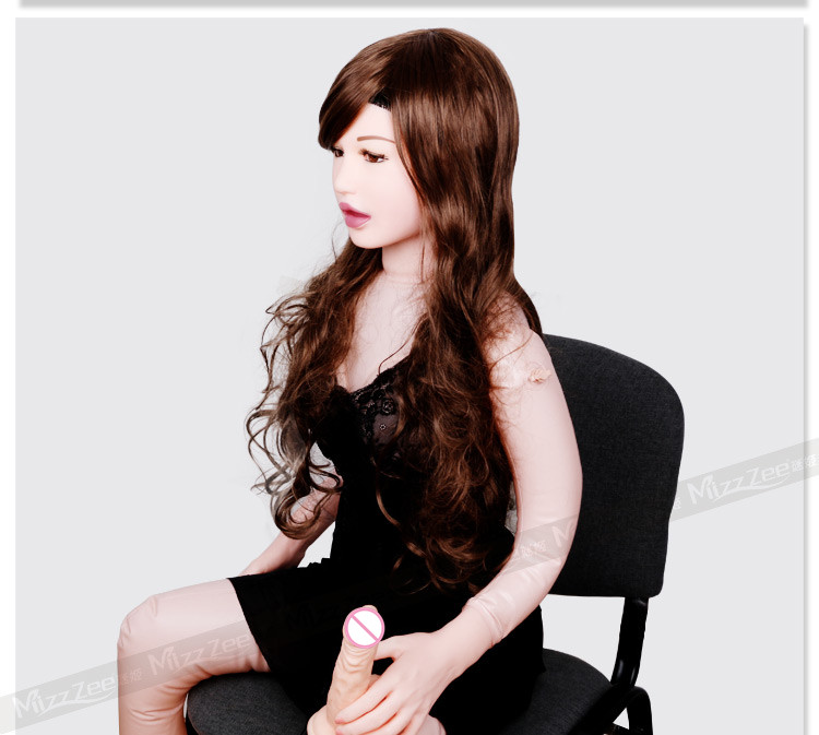 Mizee semi solid inflatable sex doll,realistic blow up doll 155cm with realistic vagina pussy,anus and oral sex toys for men.(China (Mainland))