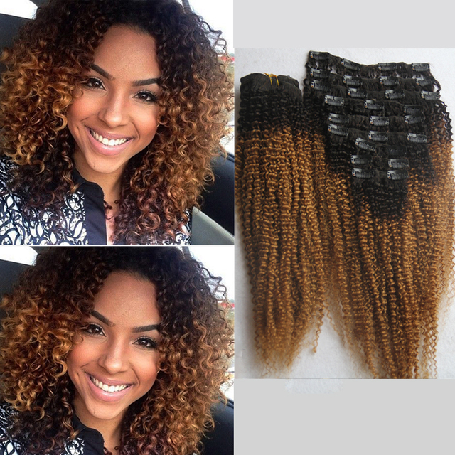 African American Human Hair Extension 110