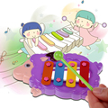Just Beat It 4 note Resonator Bells Animal Design for Kids Educational Toy Music Toy Instrument