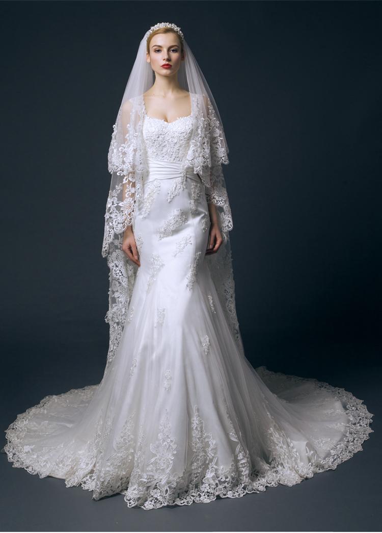 Buy vestido de noiva sereia sexy see for True mermaid wedding dresses