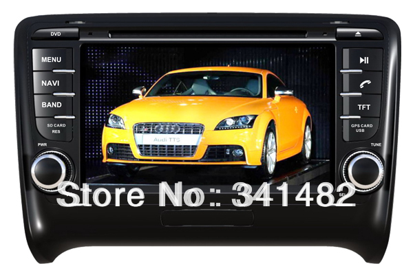 CAR DVD PLAYER FOR AUDI TT 2006-2011 Bluetooth,GPS,Ipod function - Shenzhen TomTop E-commerce Technology Co., Ltd. store