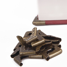 100pcs Antique Bronze Book or Menu Corners