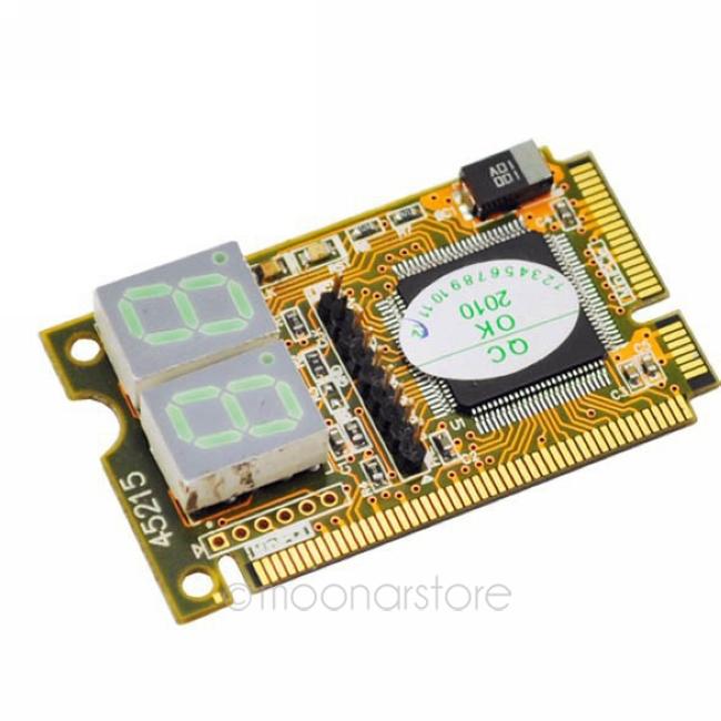 Новое поступление 3 в 1 мини-pci-e expresscard / mini pci / lpc 2 2digit пк тестера анализатора для ноутбуков dnpj0003-20