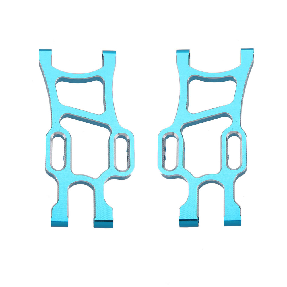 108021 1/10 Upgrade Parts Aluminum Rear Lower Suspension Arm for HSP RC Off Road Monster Truck Car(China (Mainland))