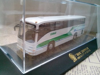 Domestic bus alloy model crystal box collection certificate bus bus