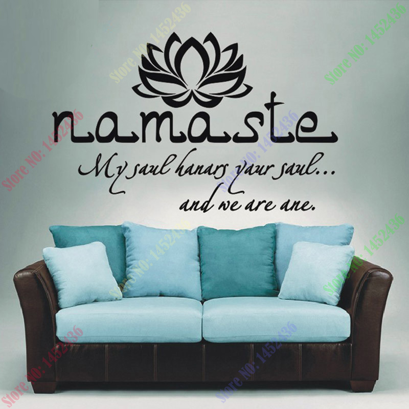 wall decals quotes vinyl sticker decal buddha quote