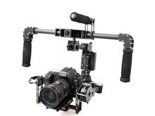 New IPOWER 3-Axis DSLR Camera Carbon Brushless Gimbal Handle/Stabilized Mount steadycam for 5D2 Run Movie