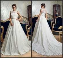 Hot Sale White Aliexpress China Custom Made Wedding Dress Online(China (Mainland))