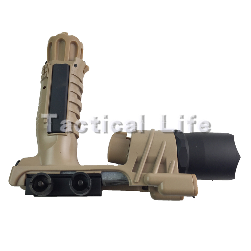White Light M900 LED Tactical Flashlight Laser Pistol Torch Light Little Handheld Flashlights Black/Sand For Hunting(China (Mainland))