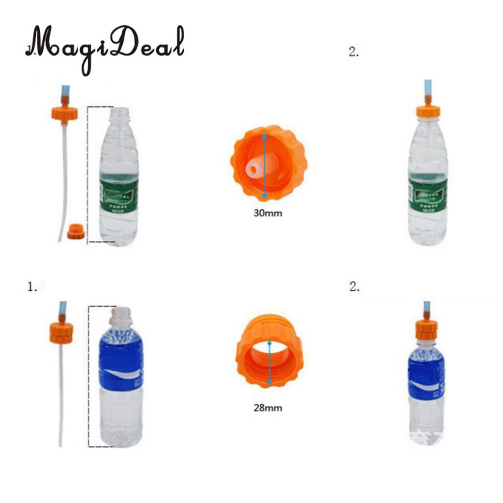 MagiDeal Water Bottle Hose Hydration Reservoir Pack Backpack System Kit Regular