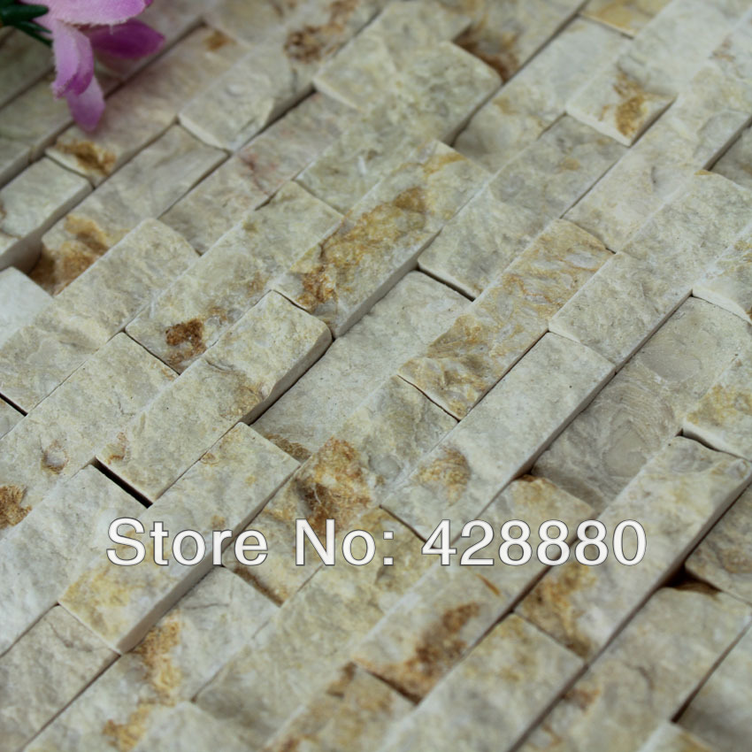 natural stone mosaic tile kitchen backsplash tiles