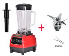220 V/110 V 3HP 2L BPA LIVRE da classe comercial casa profissional smoothies poder batedeira liquidificador espremedor de alimentos processamento de frutas(China)