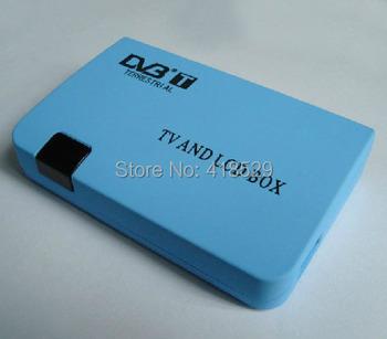 Digital TV Box LCD VGA/AV Tuner DVB-T Free View Receiver